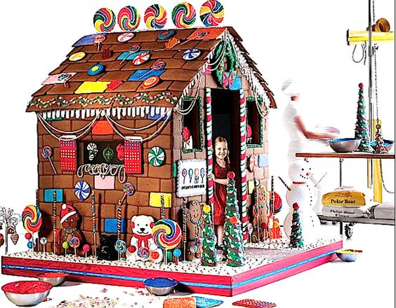 Extreme Gingerbread Houses Will Spice Up Your Holiday