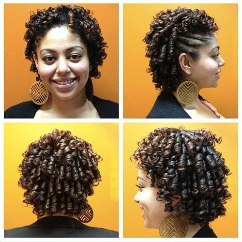 Latest Hairstyle Roller Set Hairstyles For Black Hair