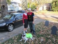Coolest Popeye and Olive Oyl Couple Costume with a Can of ...