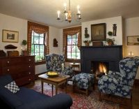 Early American inspired living room | my idea of colonial ...
