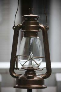 Electric Hurricane Lantern BRONZE Ceiling Lamp   Hanging ...