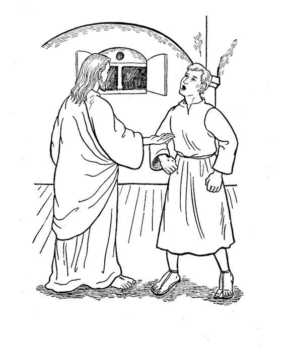 St. Thomas the Apostle (Doubting Thomas) Catholic Coloring