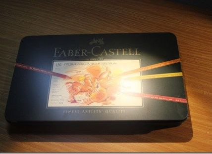 Review: Faber Castell Polychromos Color Pencil Set – Tin of 120 | Paulette's Papers:
