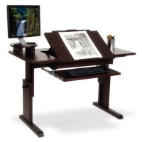 Ah! Art desk! For traditional or computer art! | Home ...