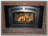 Accessories, Lowes and Fireplace inserts on Pinterest