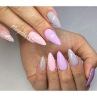 Spring nails pastel almond nails 2016 | MargaritasNailz ...