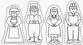Pilgrims, Native american and Printables on Pinterest