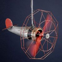 Dallas Airplane Fan ceiling fan, circa 1940