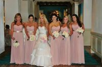 Blush pink bridesmaid dresses | Wedding | Pinterest | The ...