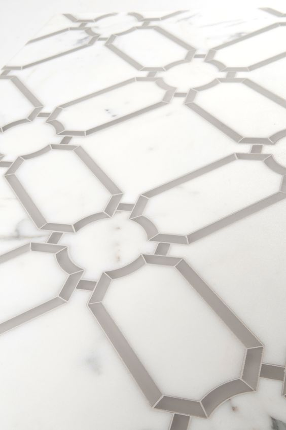 Herald Water Jet By Mosaique Surface Marble Floor