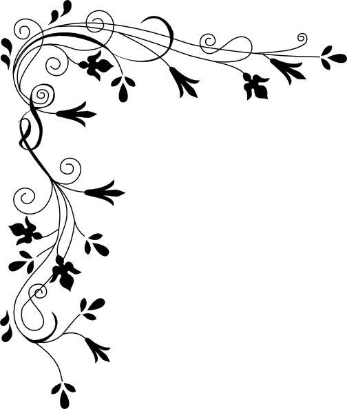 Decorative Plant Page Corner Clip Art At Clker Com Vector