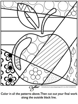 BACK TO SCHOOL INTERACTIVE COLORING SHEET FREEBIE