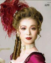 beautiful steampunk victorian hair