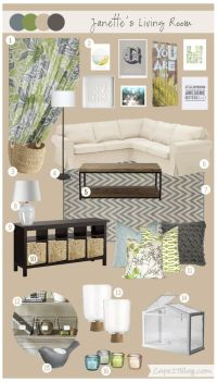 Mood Board: Janette's Living Space | Mood Boards, Living ...
