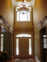 Moldings, Foyers and Windows and doors on Pinterest