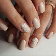 manicure. nail design. art simple