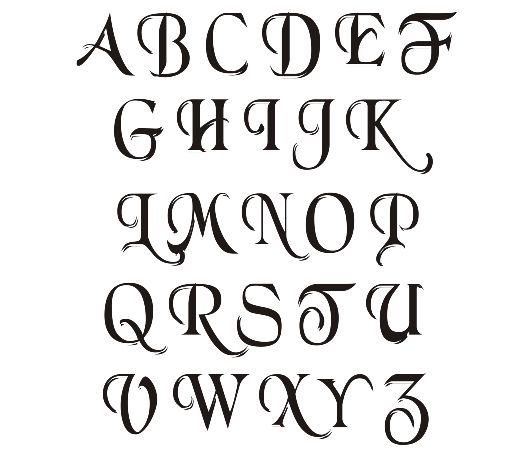 Calligraphy, Simple and Alphabet on Pinterest