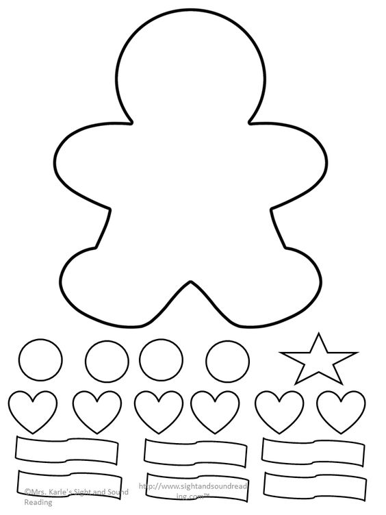 Gingerbread man, Lesson plans and Gingerbread on Pinterest
