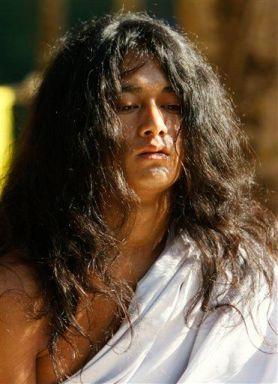 """The Buddha Boy"" Ram Bahadur Bomjon in meditation.:"