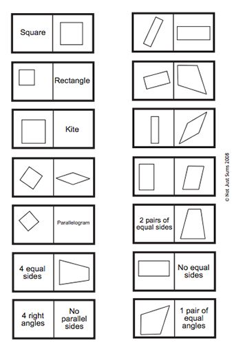 To work, Shape and Vocabulary on Pinterest