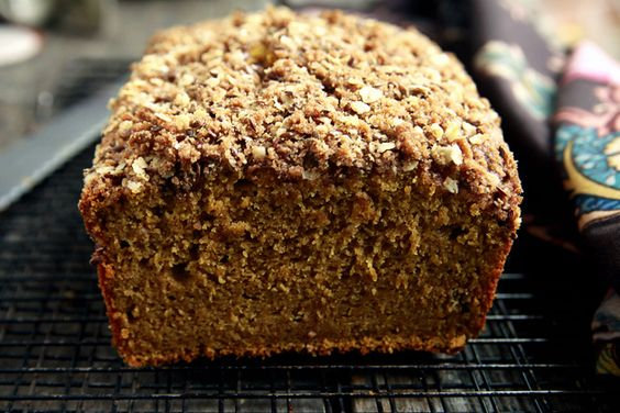 topped pumpkin bread recipe ree drummond and breads