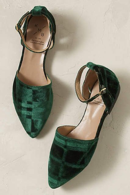 Anthropologie EU Jasper Velvet Flats by KMB. Spanish shoemakers KMB have been honouring their raison d'etre since 1980: crafting beautiful, versatile and, above all, well-made shoes.: