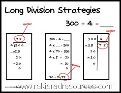 Free printable poster with three different strategies to