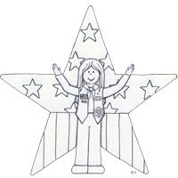 Coloring, Coloring pages and Stars on Pinterest
