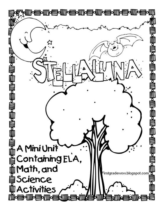 First Grade Wow: Stellaluna Saves the Day! (and the week