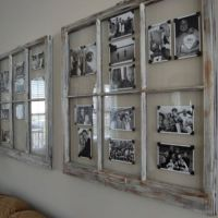 Window pane picture frame | For the Home | Pinterest ...