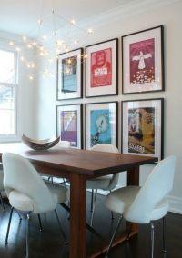 Dining Room Poster Interior Ideas Best Dining Room Wall ...
