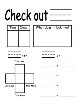 Common Core Standards Math Activities For First Grade