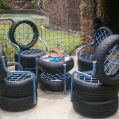 Folding Chair Upcycle Posture Fixing Tire | Tires Pinterest Chairs And