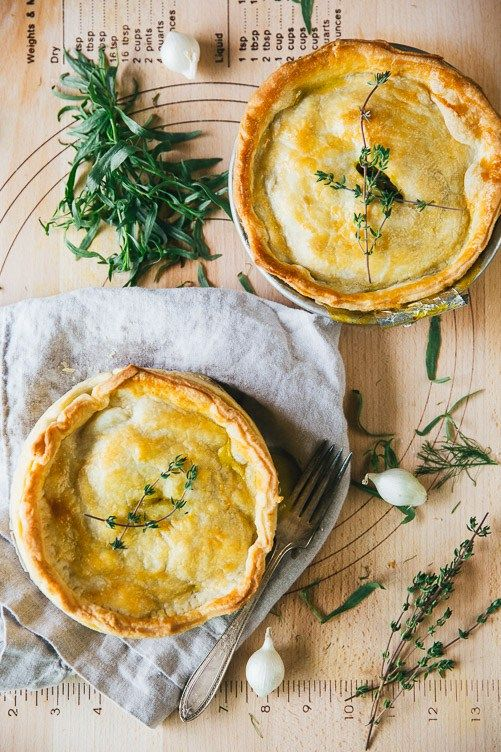 Savory Veggie Pot Pie: