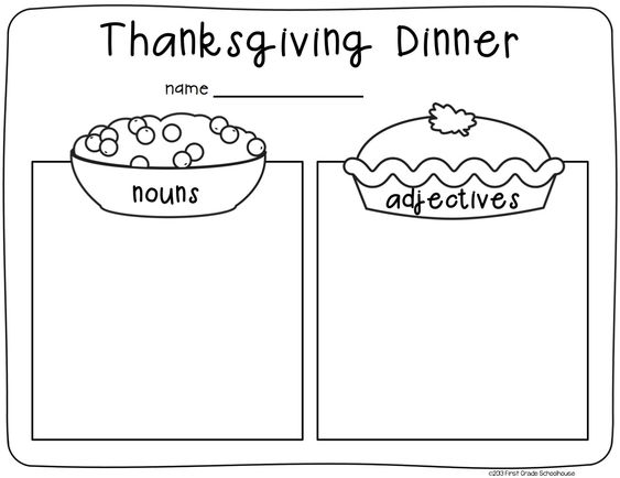 Thanksgiving writing, Thanksgiving and Writing on Pinterest