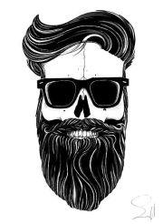 hipster skull customer