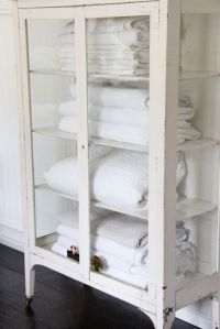 Glass door cabinet storage | Home decor | Pinterest ...
