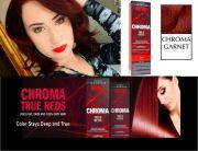red hair maroon burgundy