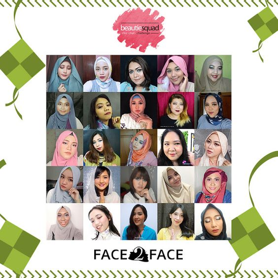 Makeup Lebaran Inspiration, in collaboration with Beautiesquad and Face2Face Makeup