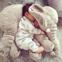 INS large elephant pillows cushion baby plush toy stuffed ...
