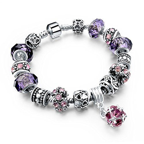 Elegant Women Charm Bracelet Jewellery Purple Crystal Flo... https://www.amazon.co.uk/dp/B01LCSXYEC/ref=cm_sw_r_pi_dp_x_7anPybQH1011P: