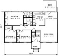 1970s Split-Level House Plans | Split Level House Plan ...