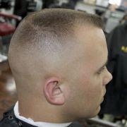 high and tight flattop haircut
