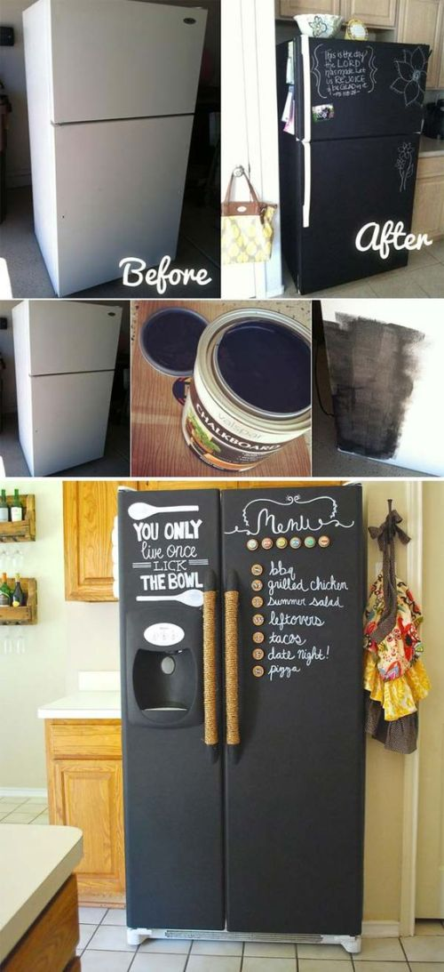 Chalkboard Paint ideas in your Kitechen