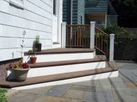 possible solution to raised back door | Backyard ...
