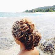salty hair. summer of love