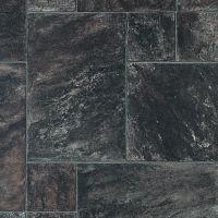 slate look vinyl tile | Grey Slate Tile Style Vinyl Random ...