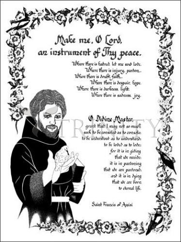 Prayer, Religious art and St francis on Pinterest