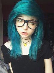 1000 ideas emo hair color