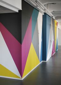 Colorful walls #geometric | For the Home | Pinterest ...